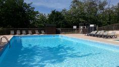 piscine chauffée camping  à Anneyron dans la Drôme http://bougerenfamille.com/vacances-anneyron-en-famille/
