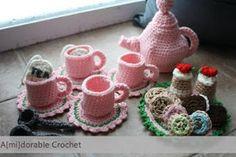 1500 Free Amigurumi Patterns: Tea Time Play Set Pattern