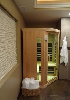 Steam room on pinterest sauna room saunas and steam showers - Angie s list bathroom remodeling ...