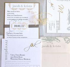 Modern Romance - Wedding Invitations,