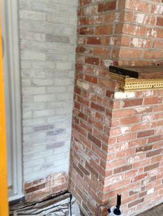 Secrets Of Segreto   Segreto Secrets Blog...how To Limewash Brick For An