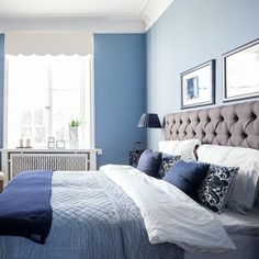 #sovrum #styling #blått #bedroom #homestyling #blue