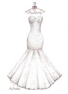Image result for marriage dress sketches