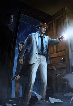 Kolchak- Night Stalker by ~Liol on deviantART This was a great, yet short lived show! Also two movies! Arte Horror, Horror Art, Horror Films, Horror Icons, Two Movies, Scary Movies, Movie Tv, Darren Mcgavin, Fantasy Tv