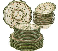 Temp-tations Old World 24-piece Dinnerware Service for 8