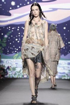 Anna Sui Ready To Wear Spring Summer 2014 New York - NOWFASHION