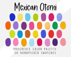 Pastel Colour Palette, Colour Pallette, Bright Color Palettes, Mexican Colors, Pintura Exterior, Rainbow Palette, Ipad Art, Complimentary Colors, Oui Oui