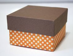 Today I will be showing you how to easily make a gift box that can be used for giving special holiday treats and goodies. Using the Scor-pal scoring board you can easily make a box like this with your favorite patterned paper or card stock ...