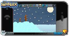 Snow World  #pixelart #sandbox #pixel #art #ios #iphone