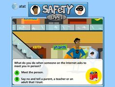 """Make use of is a great site. It shows where to find thoughtful internet safety games.These games help educate all ages, provide cues to make you question and think. what to look  for...and help educate our children. While the internet is fun...so is getting to our destination on the other side of the street, You still need to LOOK BOTH WAYS ... FIRST...to insure you can get there safely. TROUBLE STAY AWAY! Some of these games should be Kid mandatory IMHO Check out this """"make use of"""" site."""