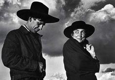 Georgia O' Keeffe and Orville Cox- Ansel Adams, 1937