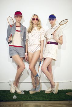 lauren moffatt spring 2013 presentation by calivintage, via Flickr