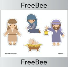 Download this FREE Printable Nativity Scene Set and encourage your children tell the story of the nativity themselves! Nativity Scene Sets, Religious Education, Primary School, Beautiful Images, Your Child, Free Printables, Encouragement, Challenges, Teaching