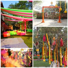 Mela Theme | Indian village fair theme | Mehendi fuction | Floral Decor | Table Centerpieces | Drapes | Puppets | Instant Photo Booth | Pinwheels | The Wedding Co | Wedding Planners | Guest Management | Mumbai | India