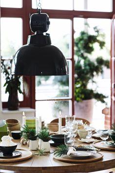 lebenslustiger table decoration for Advent, Dekoideen für die Adventszeit