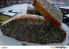Vláčný makovec - makovník recept - TopRecepty.cz Sponge Cake, Tortillas, Meatloaf, Cornbread, Banana Bread, Dip, Easy Meals, Easy Recipes, Sweet Treats