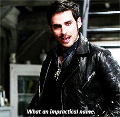 """""""What an impractical name."""" Hook - 4 * 8 """"Smash the mirror - 1"""""""