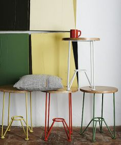 Taburete Smithy de Toast • Springtime Smithty Stool by Toast, 2014 april lookbook