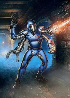 Cobra Commander robot