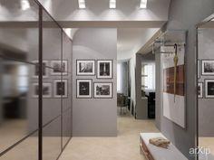 проект квартиры: интерьер, прихожая, холл, вестибюль, фойе, квартира, дом, минимализм, потолок, 10 - 20 м2 #interiordesign #entrancehall #lounge #lobby #lobby #apartment #house #minimalism #ceiling #10_20m2 arXip.com