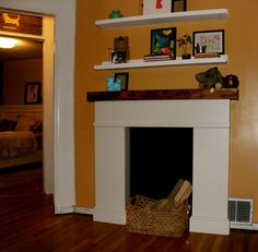 Brick Fireplace Remodel On Pinterest Fireplace Remodel