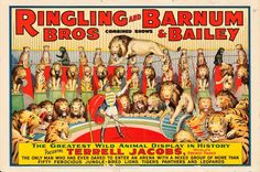 "Movie Posters:Miscellaneous, Ringling Brothers and Barnum & Bailey (Strobridge, 1939).Circus Poster (28"" X 42"").. ..."