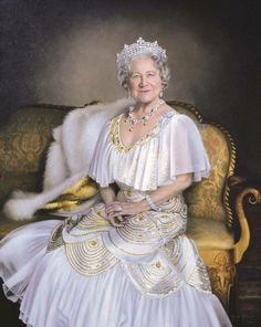 Her Majesty Queen Elizabeth was married to King George VI.  She is the mother of Queen Elizabeth II.