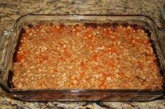 Apricot Crumble Cake