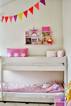 girls rooms with bunkbeds - Google Search