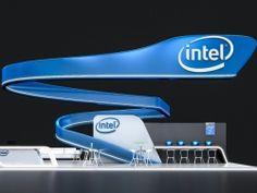 Intel展台设计|设计师原创作品|图库|东方设界-最大的免费展览展示资源整合平台