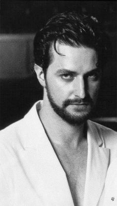 Dear Richard Armitage, I...  I...  What was I going to say?  Damn your smoldering, hypnotic gaze!