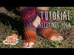 Yoga for Women: Exercises Patron Crochet, Knit Crochet, Knitting Socks, Hand Knitting, Yoga Socks, My Yoga, Crochet Slippers, Couture, Leg Warmers