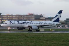 SX-BLW Boeing 757-236 Air Scotland/Greece Airways