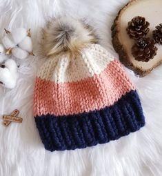 knit hat patterns KNIT ⨯ The Milot Crochet Patterns For Beginners, Knitting For Beginners, Knitting Patterns, Free Knitted Hat Patterns, Loom Knitting, Baby Knitting, Loom Knit Hat, Knitting Stitches, Knitting Needles