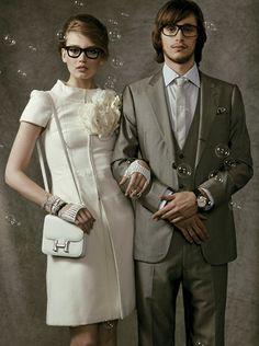 Mariage : on change tout ! Robe vintage, enfants d'honneur relookés, invitations sur Facebook... Les codes de la noce ont changé