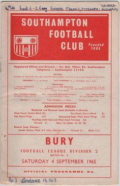 Vintage Football (soccer) Programme - Southampton v Norwich City, season, by DakotabooVintage Southampton Football, Southampton Fc, Football Program, Football Soccer, Vintage Gifts, Etsy Vintage, Charlton Athletic, Ipswich Town, Everton Fc