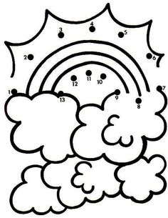 Actividades para niños preescolar, primaria e inicial. Fichas para niños para imprimir con dibujos para unir los puntos numerados para niños de preescolar y primaria. Unir puntos numerados. 10