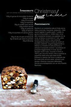 Christmas fruit cake | PANEDOLCEALCIOCCOLATO