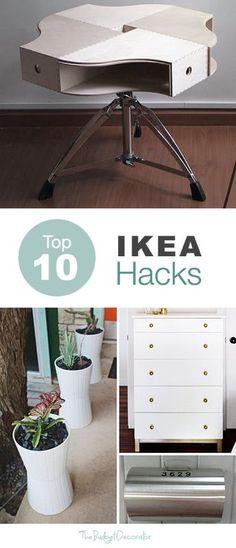 Top 10 IKEA Hacks – The Budget Decorator