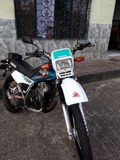 Yamaha Rx 135, Dt Yamaha, Bike Pic, Dirt Bikes, Motocross, Biker, Motorcycle, Bandanas, Deadpool