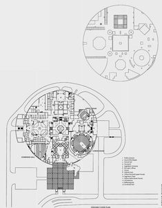 Vidhan Bhava, State Assembly Bhopal. India. 1980-1988 Architect: Charles Correa