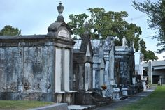 Metairie Cemetery The amazing array of marble sculptures and tombs here make it one of the most beautiful and unique places in the city. 5100 Pontchartrain Blvd, New Orleans 70124