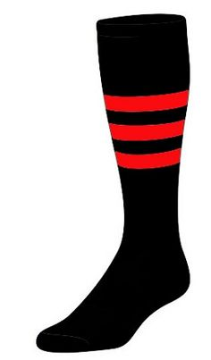 Custom  Knee High Socks -  Stripe Socks - Style B