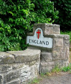 The border between England and Scotland.