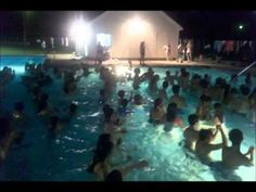 Camp Tel Noar Dancing in the Pool Summer 2011
