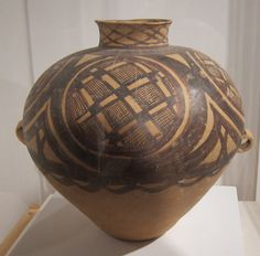 Neolithic Chinese pottery, Yangshao culture, Banshan style, John Young Museum of Art, Honolulu