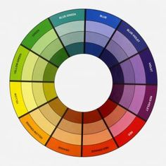 Learn from the Color Wheel