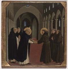 Happy Feast Day of St Dominic – August 8 #pinterest – Special wishes to those of our members who are lay Dominicans St. Dominic was a brilliant preacher, while St. Francis of Assisi was a humble beggar. Yet, they were close friends. Their two orders of Dominicans and Franciscans helped Christians become holier. Dominic's friars opened centers in Paris, France; Madrid, Spain; Rome and Bologna, Italy. He lived to see his order .........| Awestruck