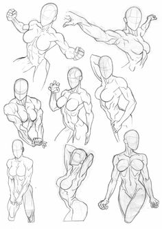 Sketchbook Torsos by Bambs79