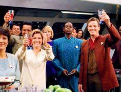 The crew celebrating Prixin - Mortal Coil